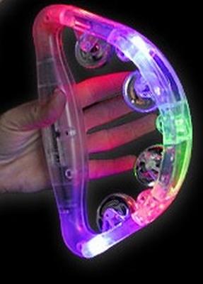 Tambourijn met licht (22 x 14 cm)