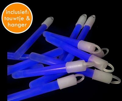 Glowstick Blauw (10 x 1,5 cm) per 100 stuks