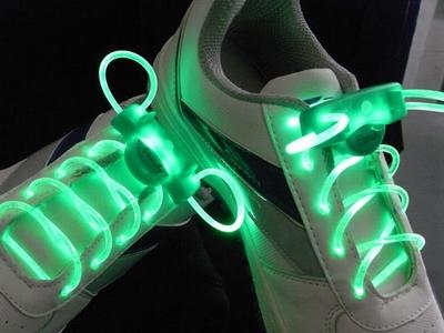Verlichte Groene schoenveter