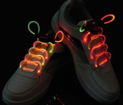 Verlichte Meerkleurige schoenveter
