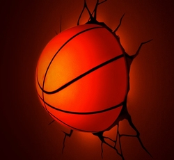 3D Led Lamp Basketbal