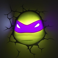 3D Led Lamp Teenage Mutant Ninja Turtle Donatello