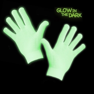 Glow in the dark handschoenen