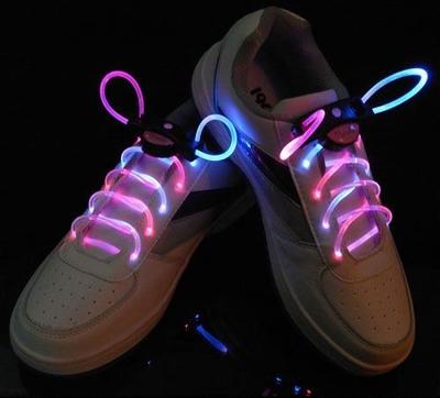 Verlichte Blauw/Roze schoenveter