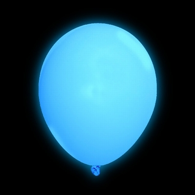 Led Ballon (5 stuks) Blauw