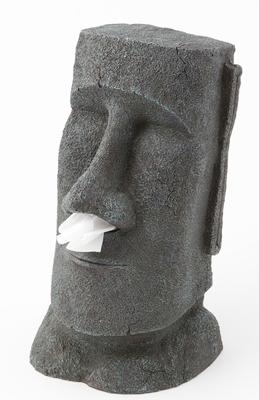 Moai Tissue box Holder