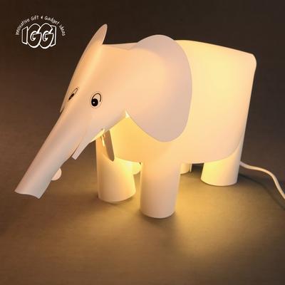 IGGI Binkie Olifant lamp Wit
