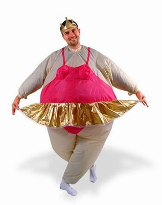 Inflatable Ballerina Suit