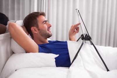 Bed Tablet houder