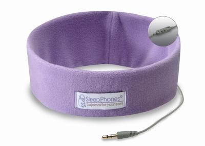 Bed Hoofd telefoon met Microfoon Lavendel