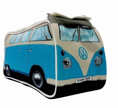 Toilettas blauwe Volkswagen