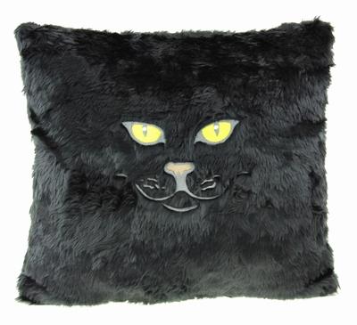 Katten Kussen Zwart