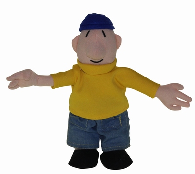 Buurman & Buurman Toy Doll Yellow-blue