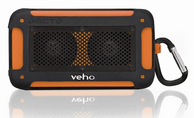 Veho™ 360° Vecto Mini Wireless Water Resistant Speaker - Ora