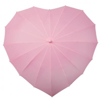 Hartvormige Paraplu Roze
