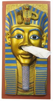 King Tut Tissue Houder