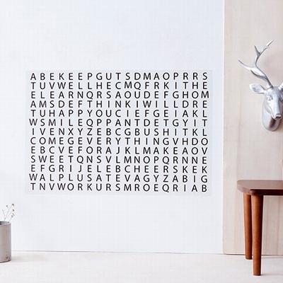 Muursticker - Woorden aan de Muur