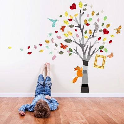 Colourful Photo Tree