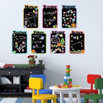 Muursticker - Kinder Dagboek Krijtbord