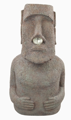 Moai Nose Solar Light