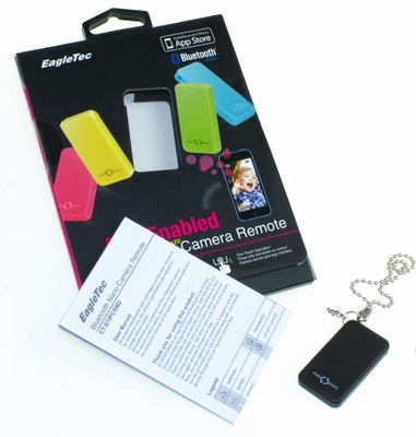 Live Capture Remote Keychain Black