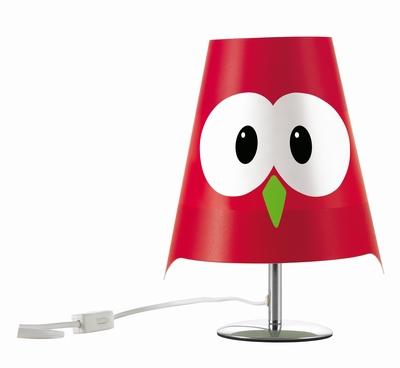 Tafel Lamp Lucignolo Rood