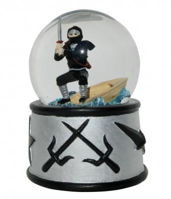 Sneeuw Bol Ninja met Geluid