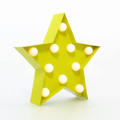 Carnival LED Light Star - Yellow