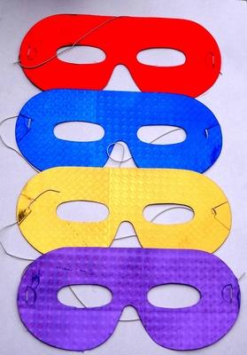 Set van 4 papieren oogmaskers (set 3) van €0,99 voor €0,49