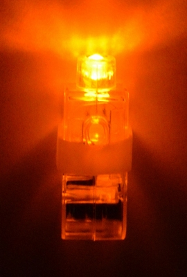 Oranje Vinger Lichtje (Nieuw!)