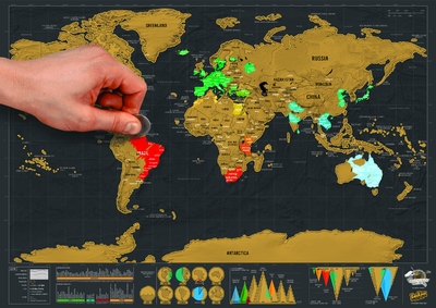 Scratch Map Deluxe Reis Editie