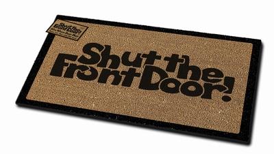 Shut The Front Door Mat