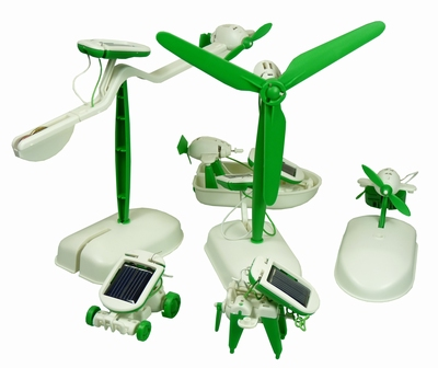 Educational Solar 6 in 1 Eco Toy Set - Chameleon