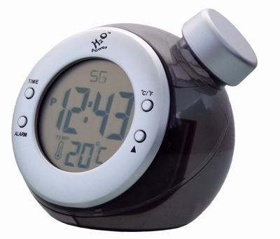 H2O Power LCD Alarm Klok