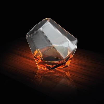 Diamantvorm glas