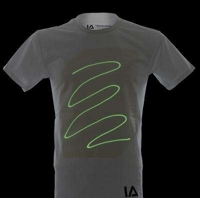 Wit Glow Shirt Super Green (L)