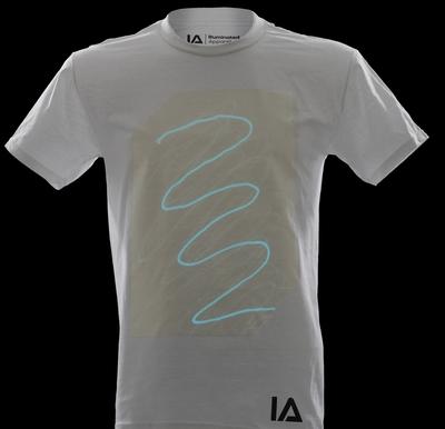 Wit Glow Shirt Aqua Blue (XL)