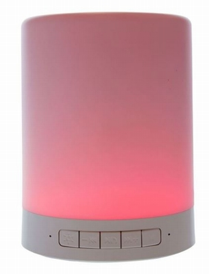 Bluetooth Speaker met RGB LED Lamp