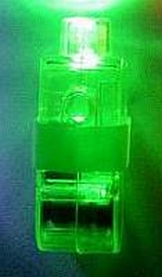 Setje van 4 x Groen Vinger Lichtje