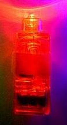 Setje van 4 x Rood Vinger Lichtje