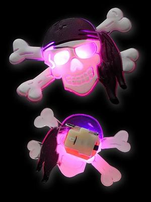 Halloween Gummi Blinkie Doodskop Matroos