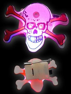 Halloween Blinkie Jolly Roger