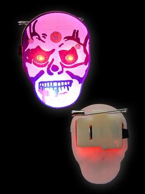 Halloween Blinkie Doodskop
