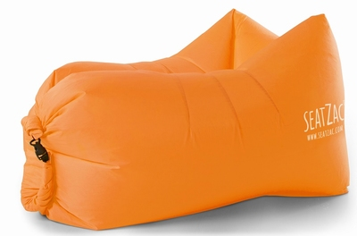 SeatZac Chill Bag - Zitzak Oranje