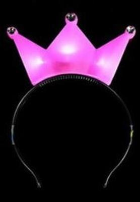 Led Kroontje Roze Voordeel Pakket (12 stuks)