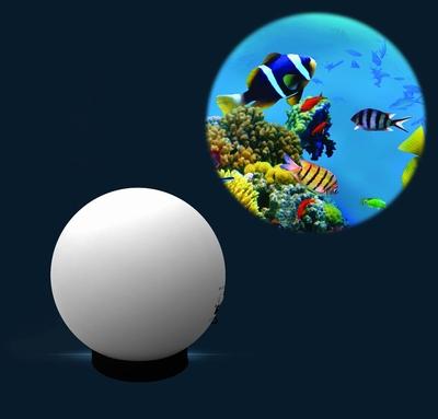 Aura led projector met Kleurenwiel Tropische Vissen