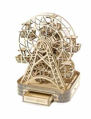 Wooden City Houten Modelbouw Reuzenrad