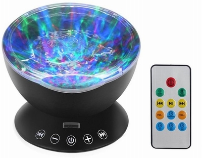 Water Projector Zwart