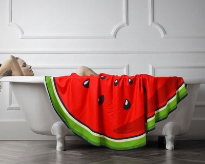 Watermeloen Badhanddoek - 150x150cm