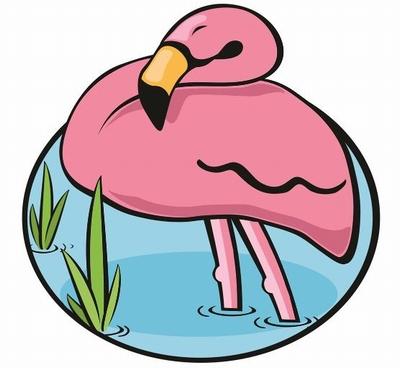 Flamingo Badhanddoek - 150x150 cm